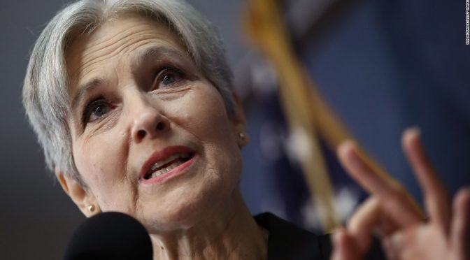 Jill Stein defends her recount efforts