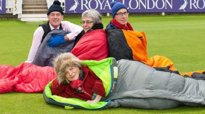 The company bosses sleeping outside in midwinter – BBC News